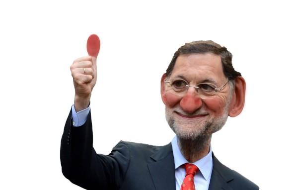 Caricatura Mariano Rajoy