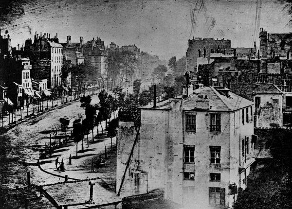 Boulevard du Temple, Paris 1839