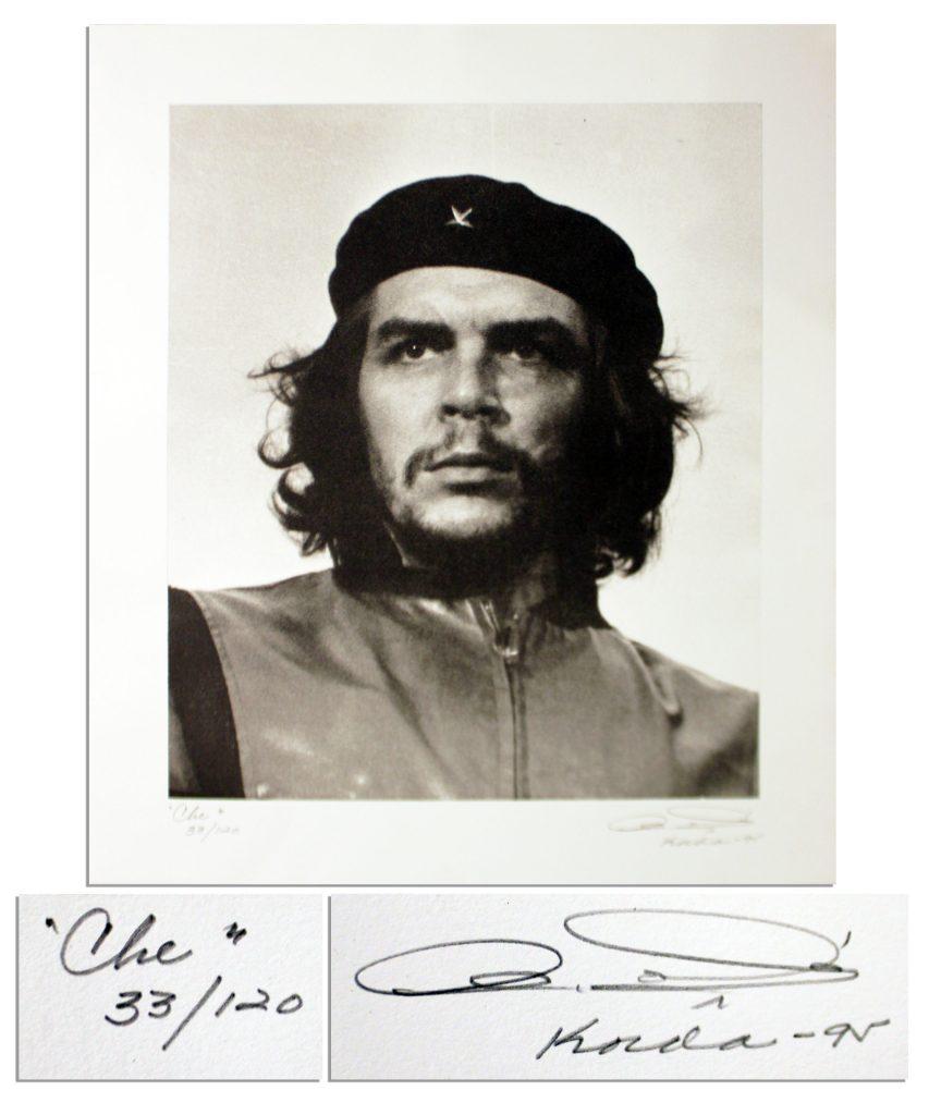 Che Guevara por Alberto Korda 5 Marzo 1960 Recortada