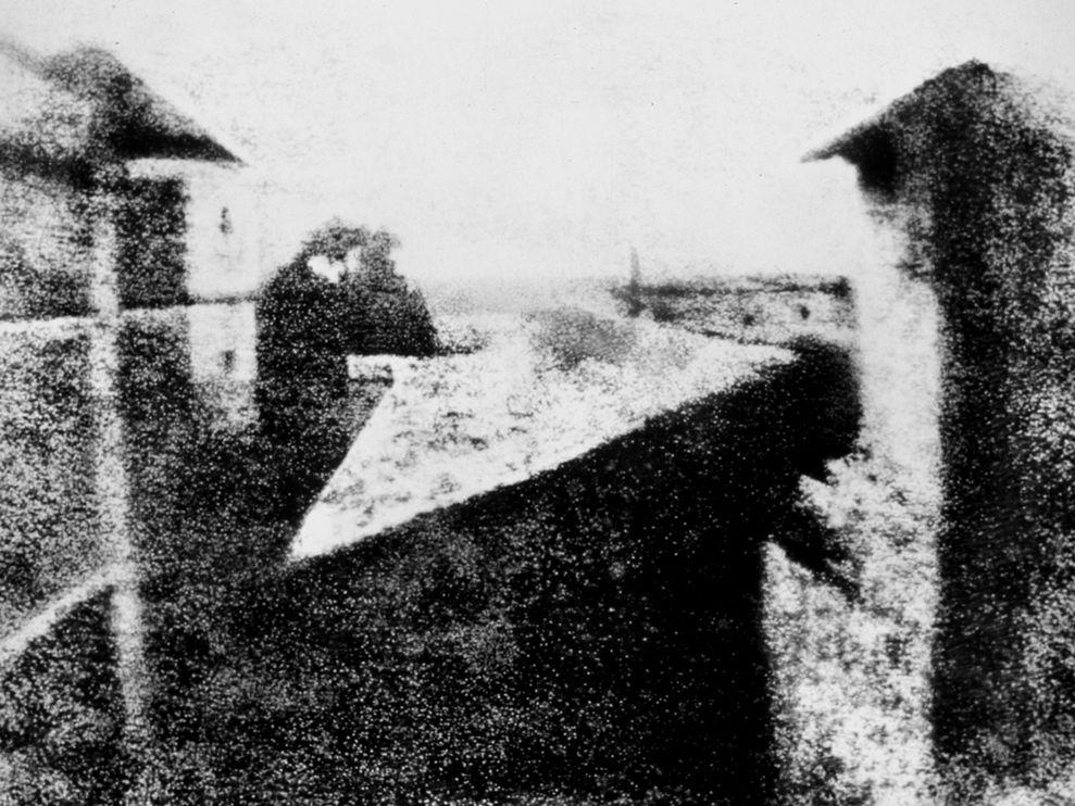 Niepce Primera Fotografía 1826