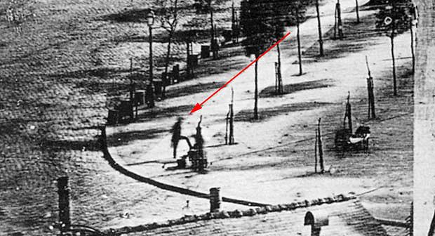 Primera persona fotografiada 1839