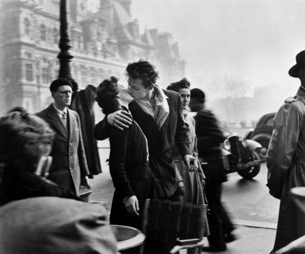 El beso del Hôtel de Ville 1950