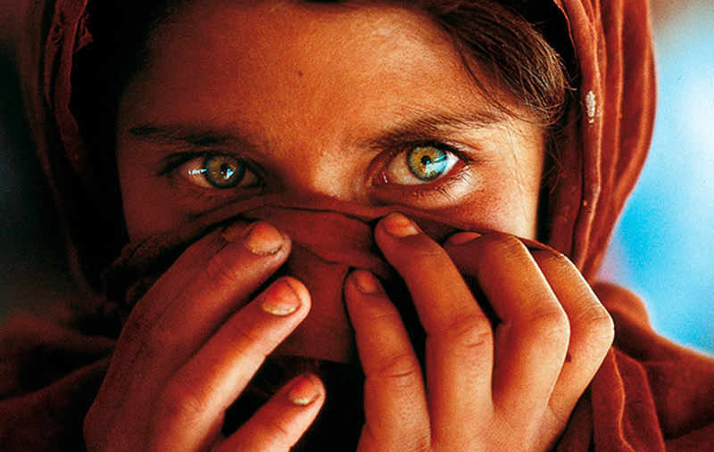 Fotografía Alternativa Niña Afgana