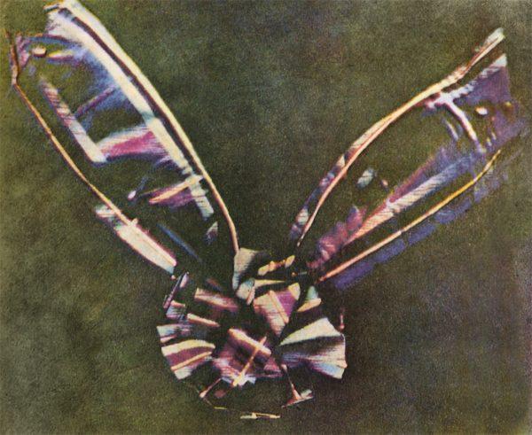 Tartan Ribbon Primera Fotografía en Color