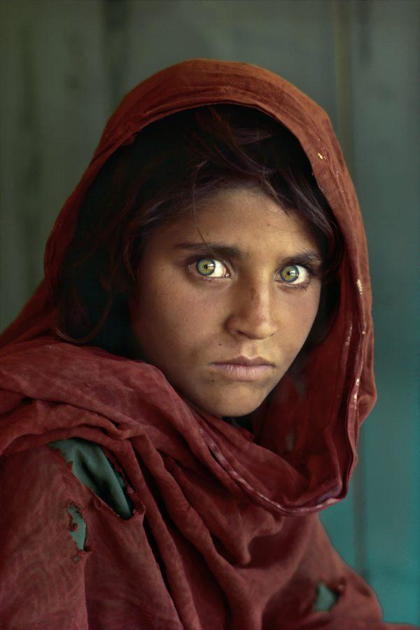 la niña afgana sharbat gula