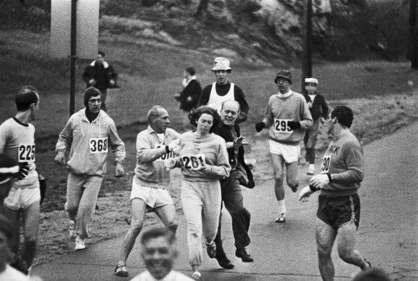Kathrine Switzer Maratón de Boston