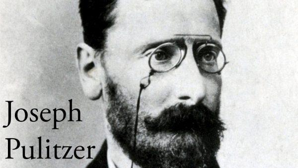 Joseph Pulitzer Periodismo